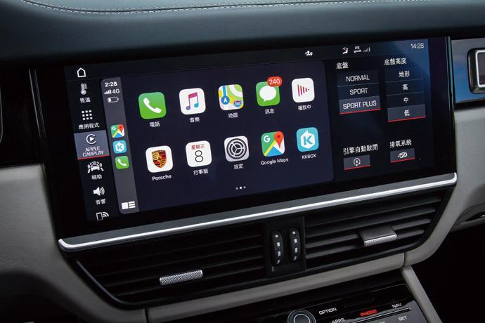 無線Apple CarPlay提供更便利的使用環境。版權所有/汽車視界