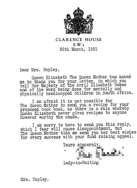 """Queen Elizabeth The Queen Mother could not disclose her most-loved dish due to """"a rule"""" [Image: SWNS]"""