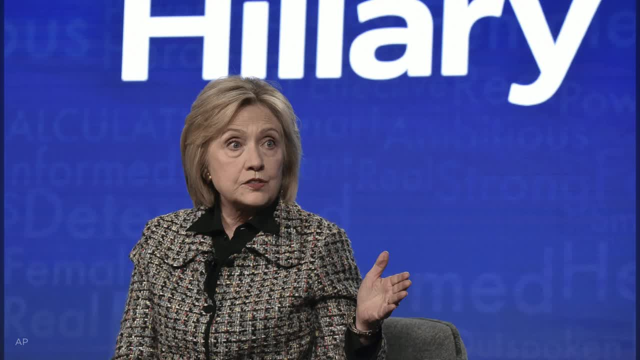 Hillary Clinton urges people to vote, fearing 4 more years of Trump: 'Lord knows what will happen'