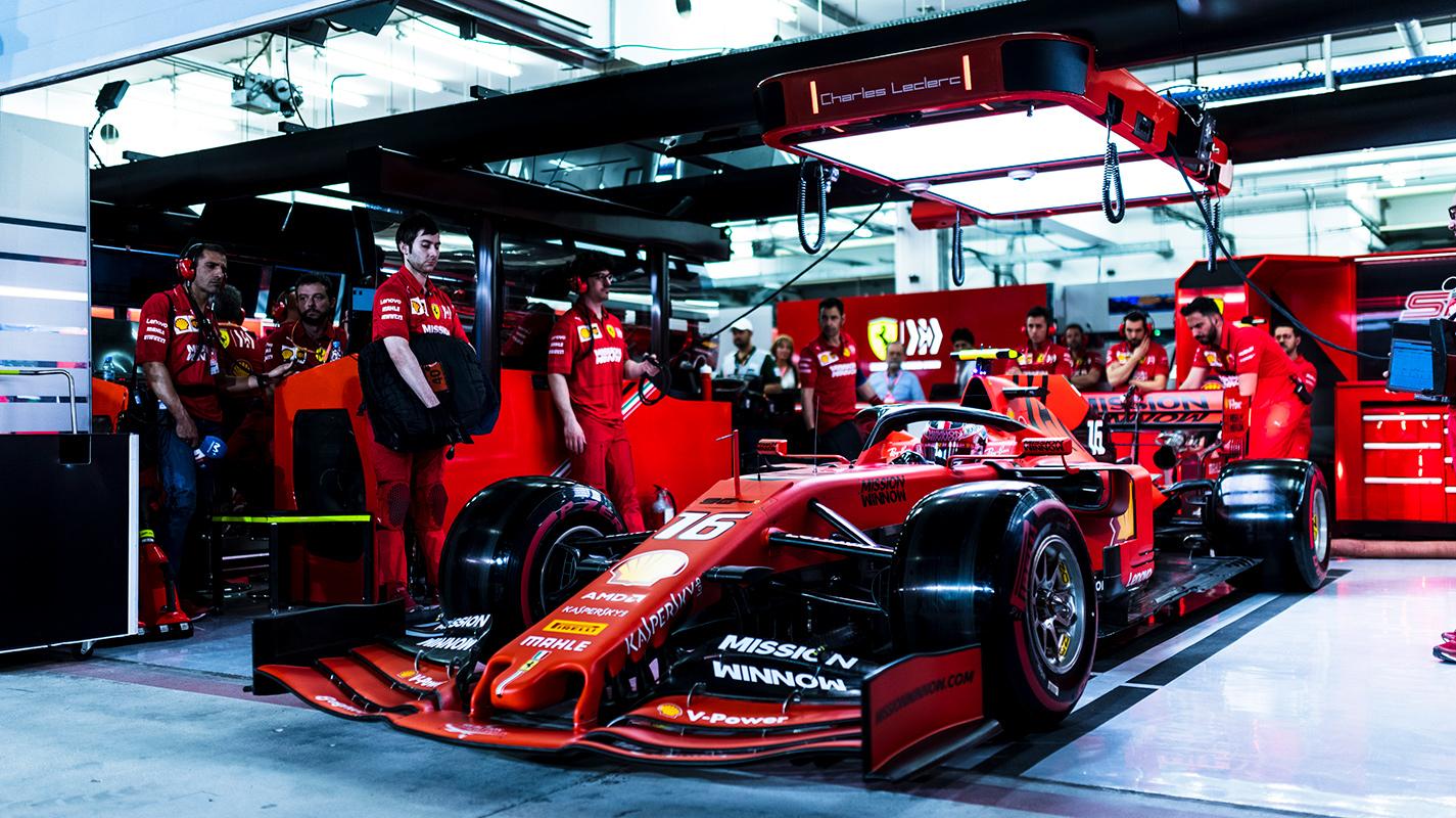 Leclerc指望影響Ferrari今年賽車的平衡設定