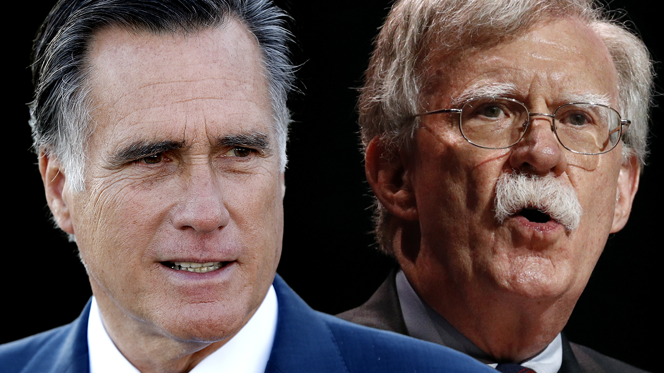 Romney says Bolton revelations make it increasingly likely Senate will call witnesses