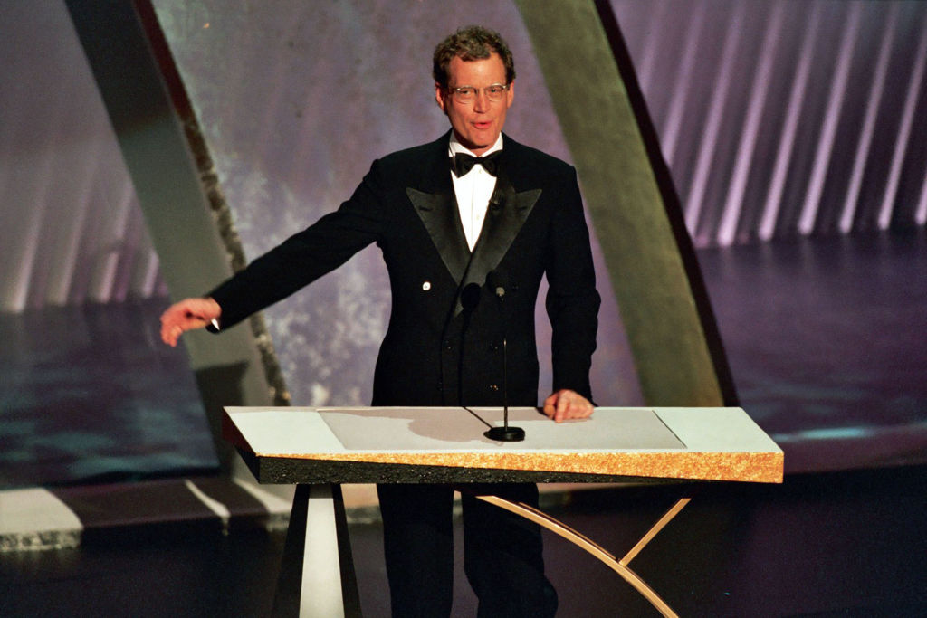 David Letterman talks about hosting the 1995 Academy Awards. (Photo: Jeff Kravitz/FilmMagic, Inc)