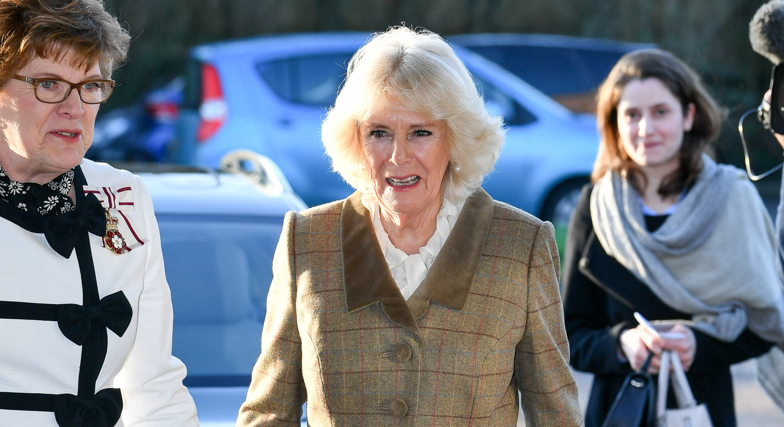 Yesterday Camilla, the Duchess of Cornwall visited Prospect Hospice in Swindon