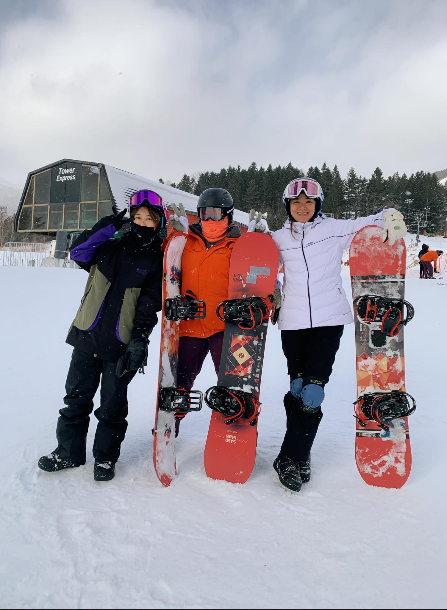 ▲這趟北海道行,洪小鈴、Amanda也一起加入旅遊行列。