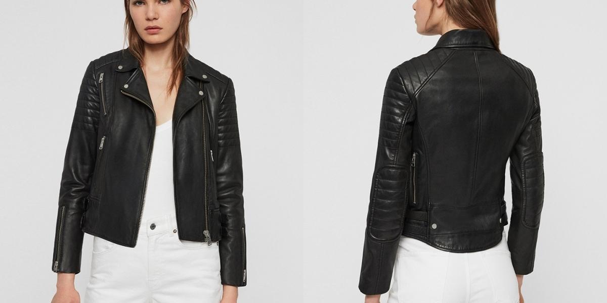 來自東倫敦的時尚品牌ALLSAINTS推出經典皮衣半價優惠!