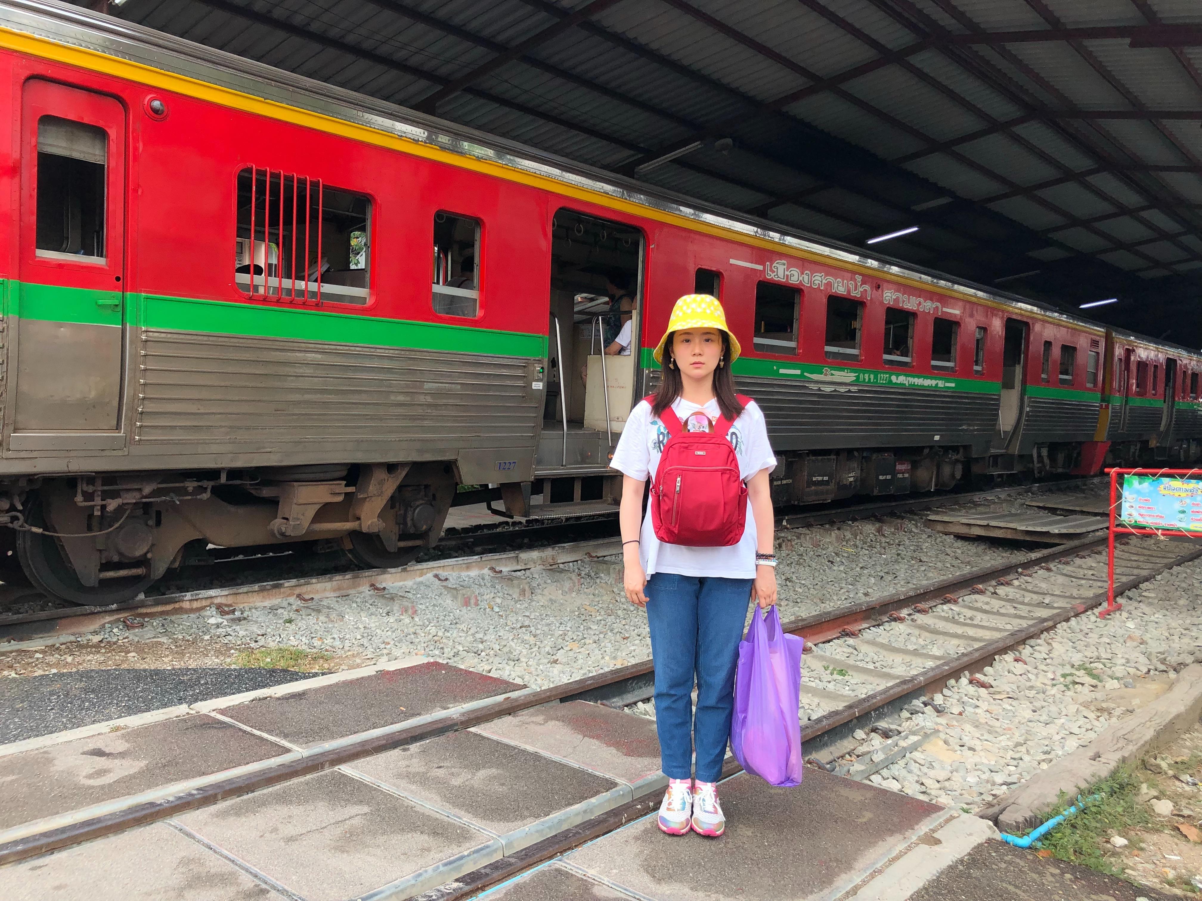 ▲這趟泰國行,讓楊小黎體驗到不一樣的日常。