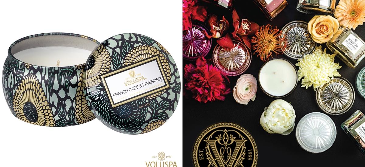 VOLUSPA最知名的彩繪錫盒蠟燭