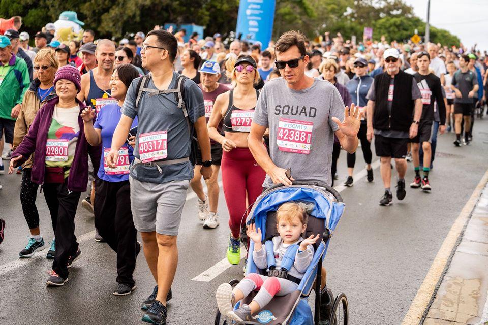 黃金海岸馬拉松也有適合親子同跑的選項(圖/昆士蘭旅遊及活動推廣局)