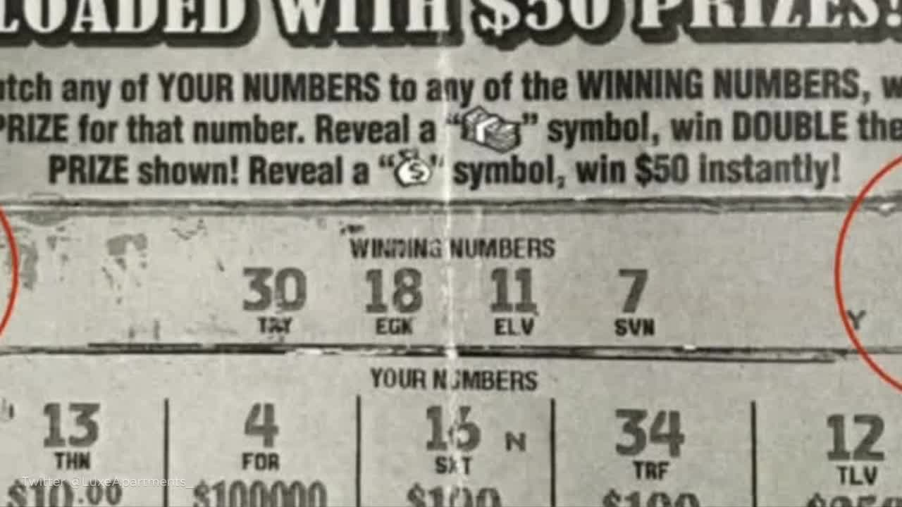 Mississippi men tried to forge winning lottery ticket