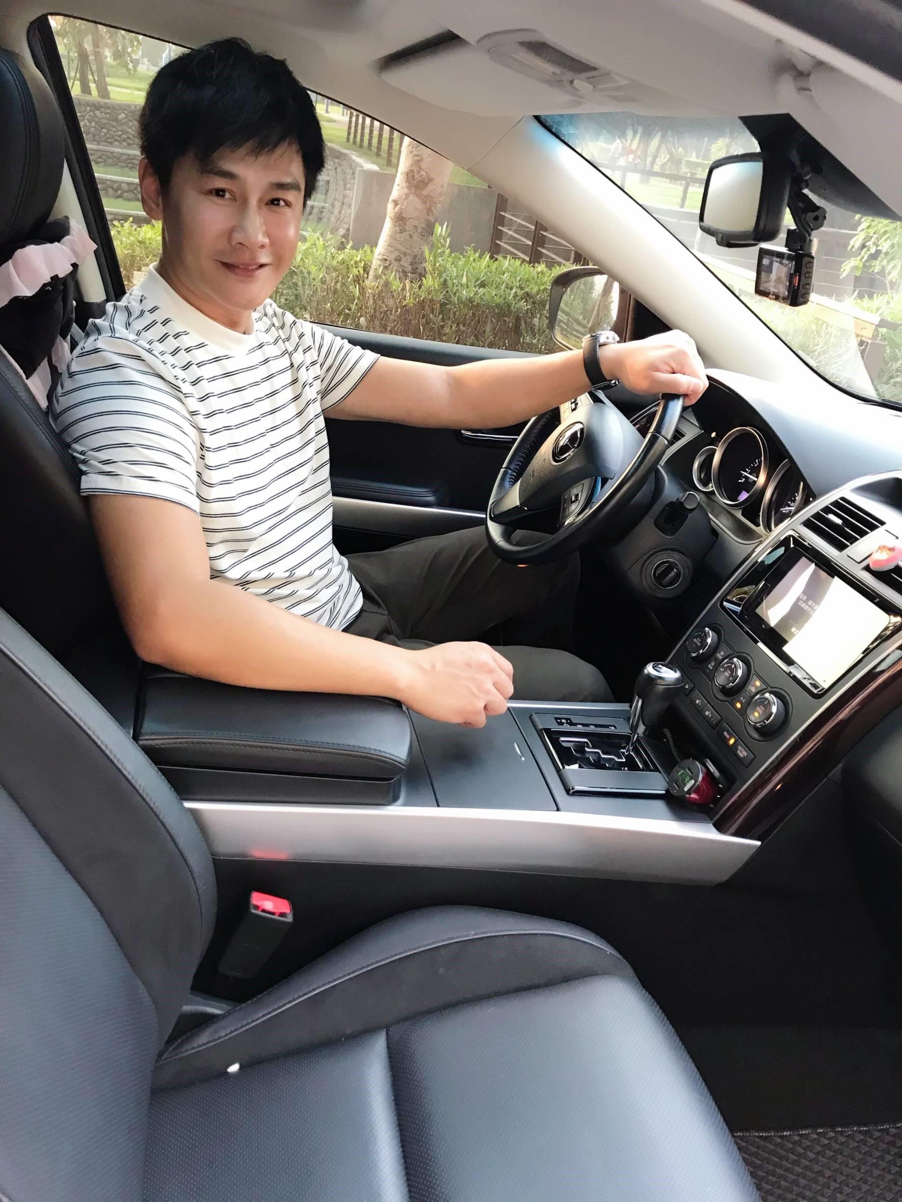▲當初買車透過朋友的推薦,讓沈世朋找到最佳選擇。