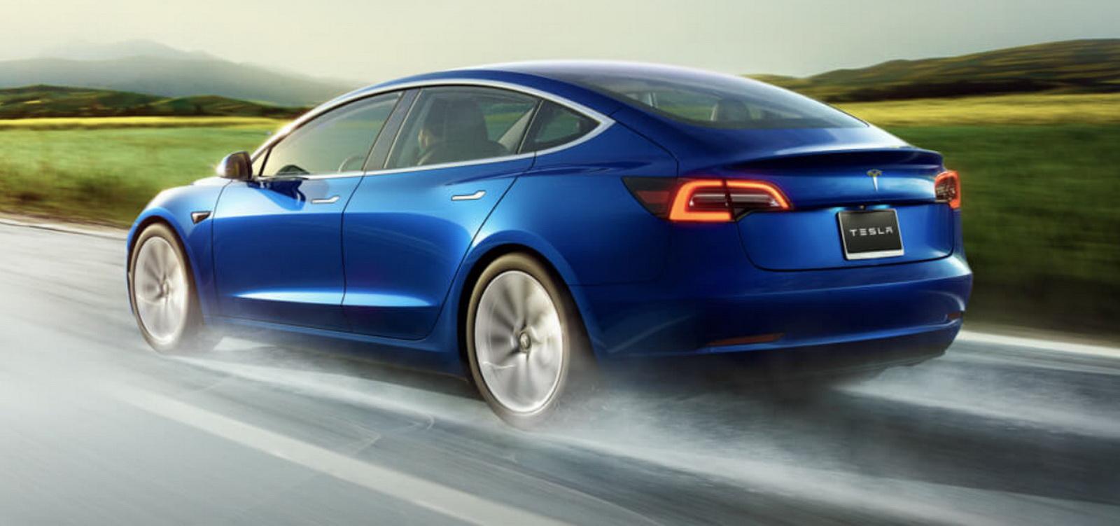 圖/Tesla Model 3以1,041輛成績衝上本月高級進口車冠軍,原廠甚至很早就宣布12月掛牌數破千。