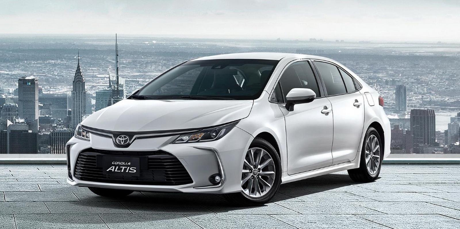 圖/2019年12月臺灣汽車市場銷售報告,Toyota Altis以3,547輛奪冠。