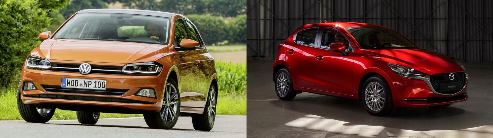 圖/Volkswagen Polo 230 TSI Life與Mazda 2 1.5旗艦安全型之小型掀背車之戰。