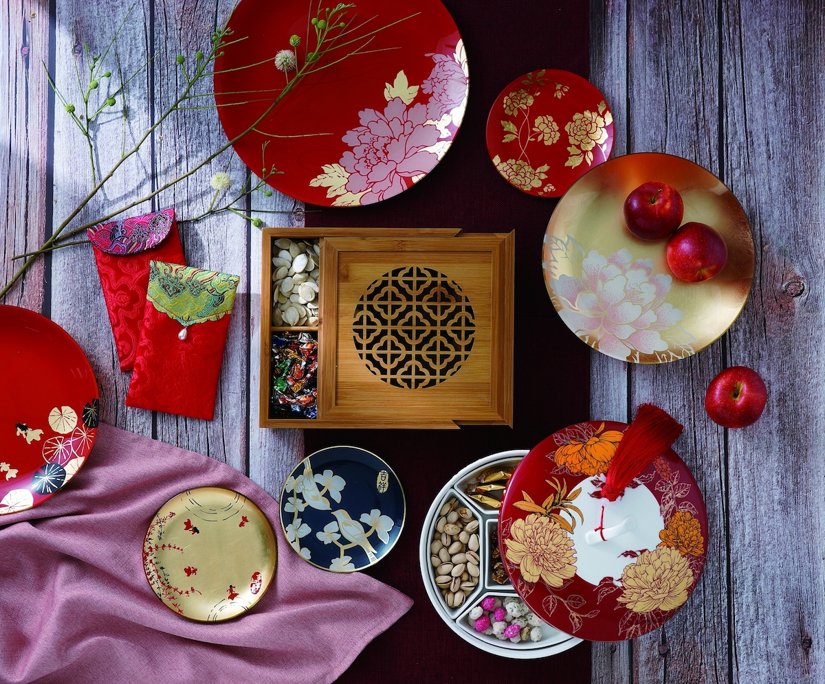 ▲農曆新年將至,利用小物佈置圍爐餐桌,增添節慶溫馨氣氛。HOLA特力和樂提供