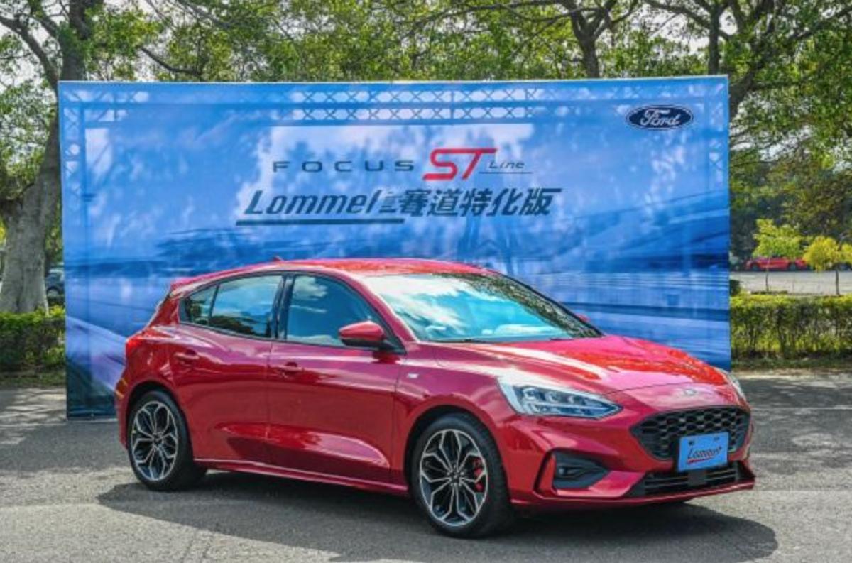 Ford Focus Lommel 賽道特化版外觀與 ST-Line 大同小異,不過內部可是採用多連桿後懸吊,剎車碟盤也有所升級。