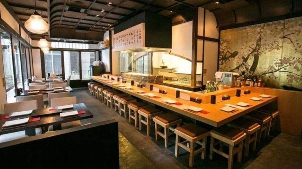 室內空間古色古香,散發濃濃的日式風情。