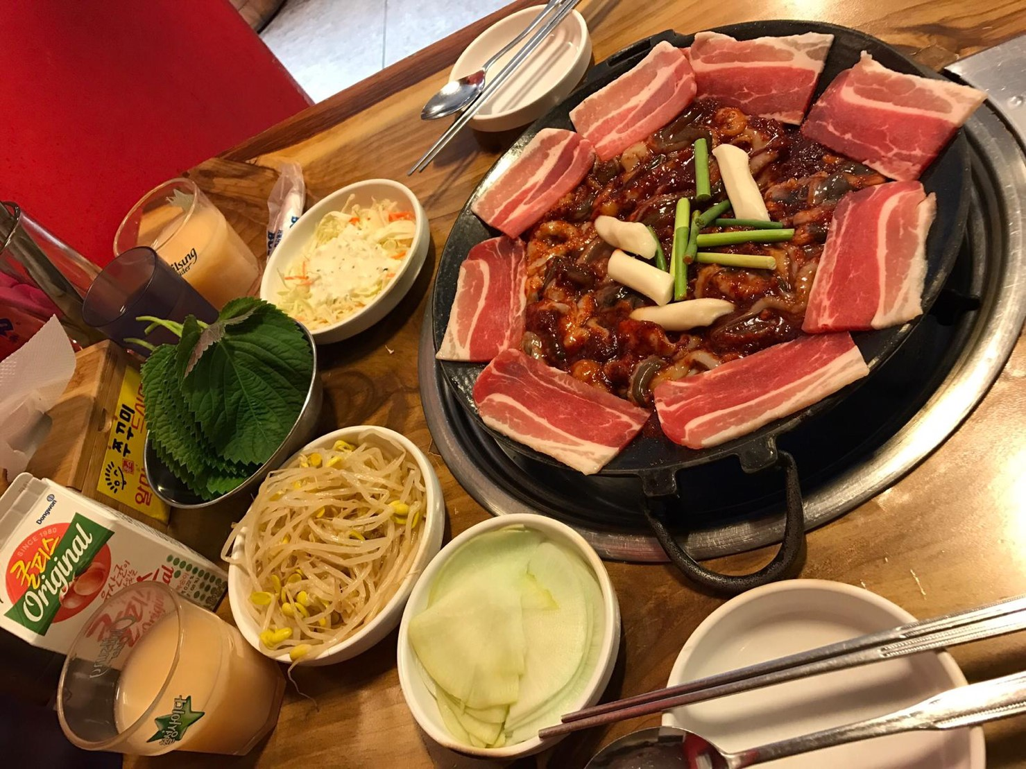 ▲韓國辣炒年糕以及烤腸,是瑤瑤每次去韓國必吃美食。