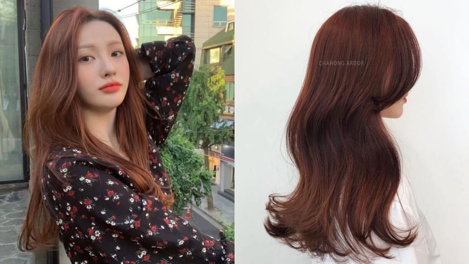 這款焦糖玫瑰髮色在韓網一直有討論度