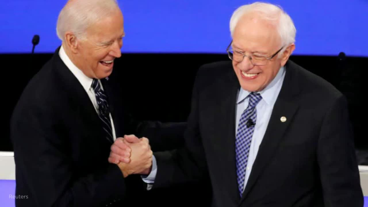Reuters poll: Sanders climbs, now tied with Biden among registered voters