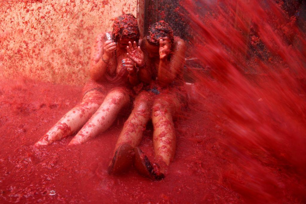 番茄大戰 (Photo by flydime, License: CC BY 3.0, 圖片來源web.archive.org/web/20161015233439/http://www.panoramio.com/photo/39915751)