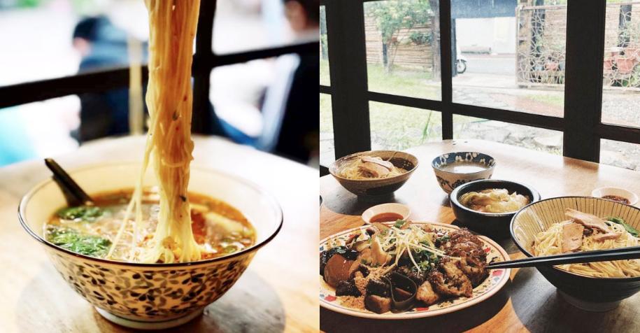 說到《阿里港義成伯の麵店》最最必吃的絕對非菜捲、粉腸、米苔目、麻醬麵這四樣莫屬!