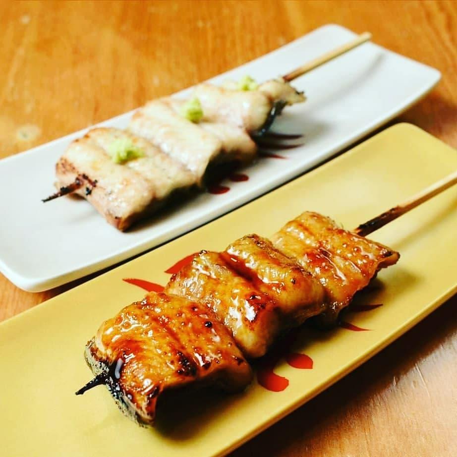 師傅手法了得,供應多樣道地日式串燒。