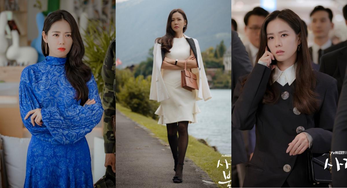 孫藝珍在劇中展演了多套千金大小姐該有的俐落造型