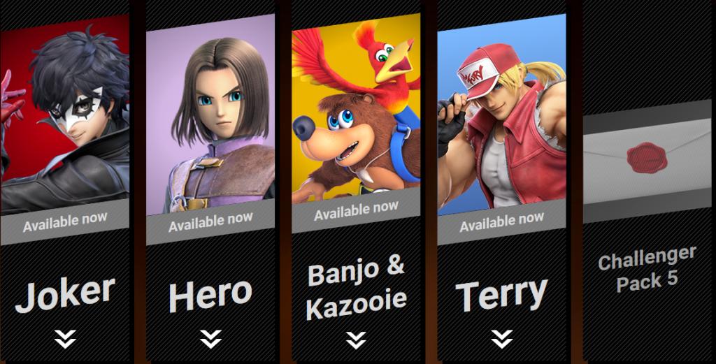 《任天堂明星大亂鬥特別版》目前的新角色包