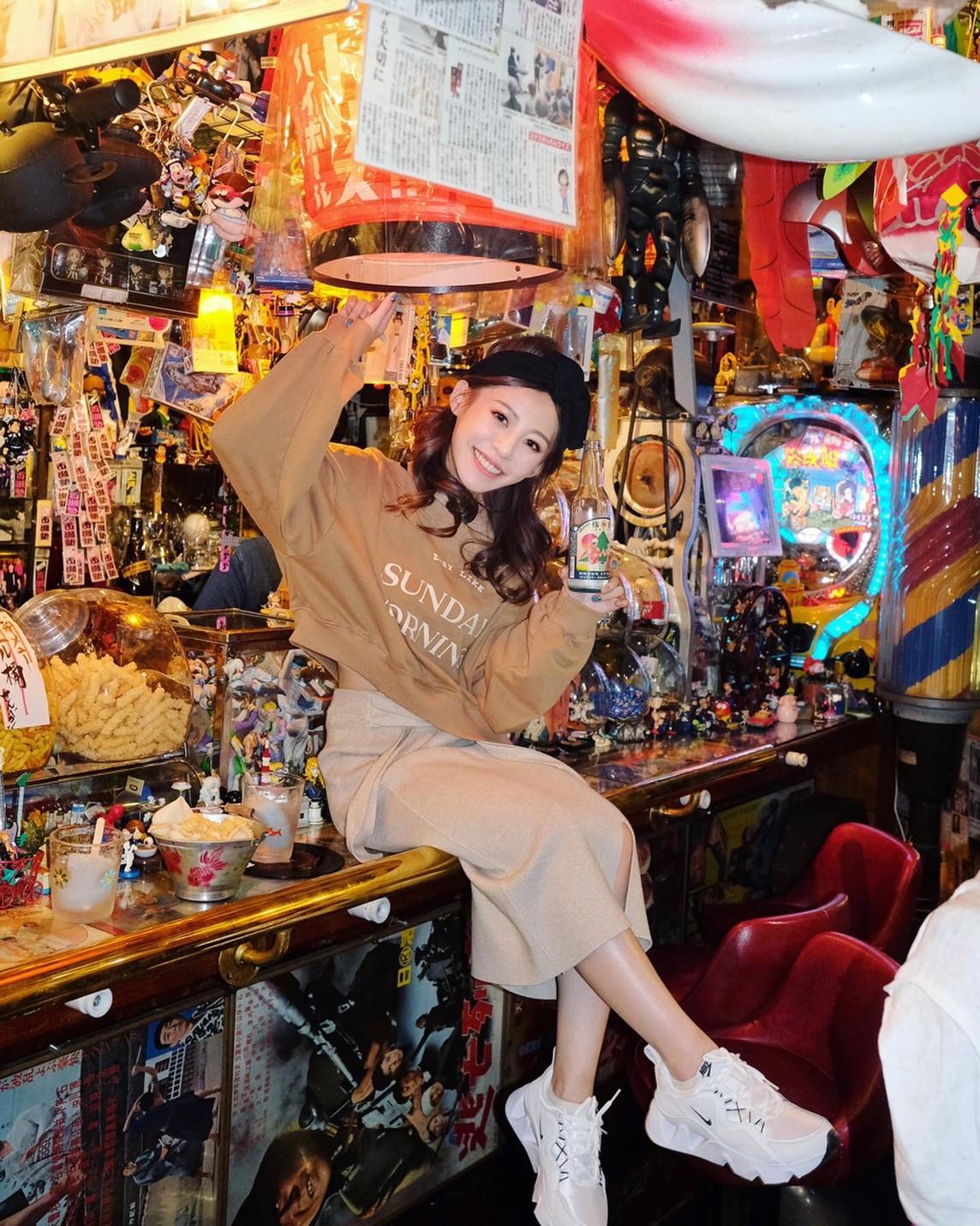 ▲紀卜心超愛『公仔酒吧』,激起她的童年回憶。