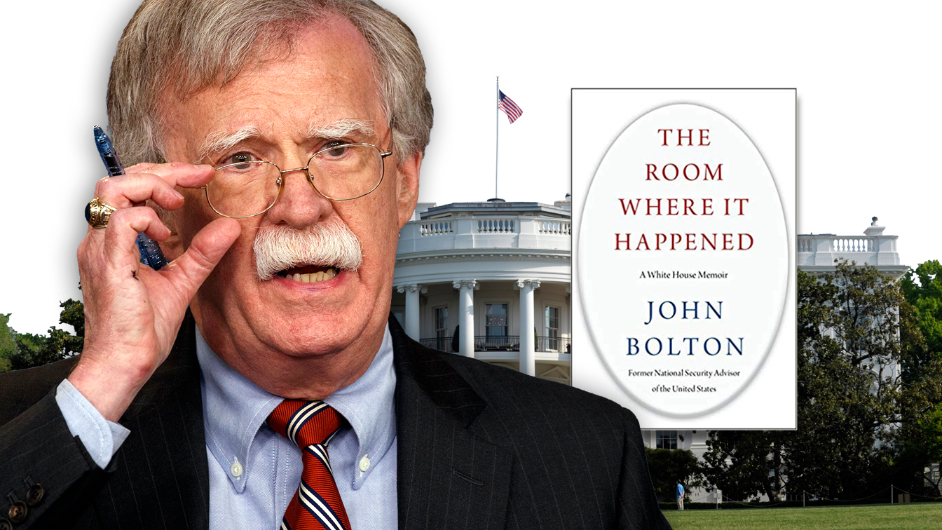 Heres what the White House letter about Boltons book really means