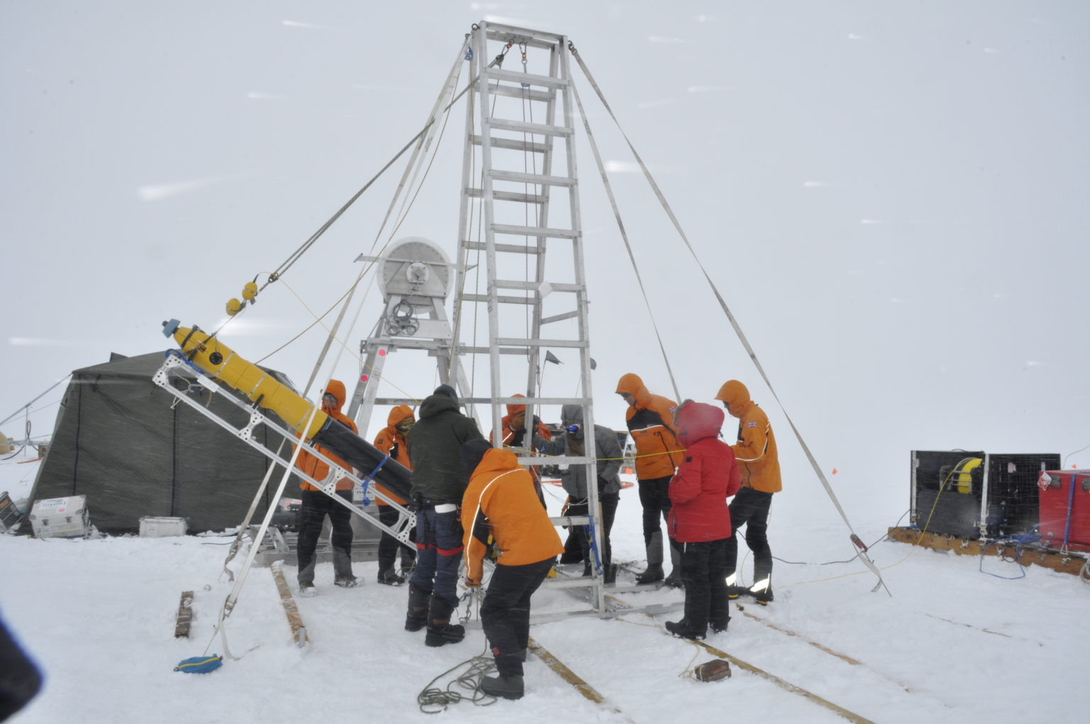 It's the first time scientists have drilled through the ice (BAS)
