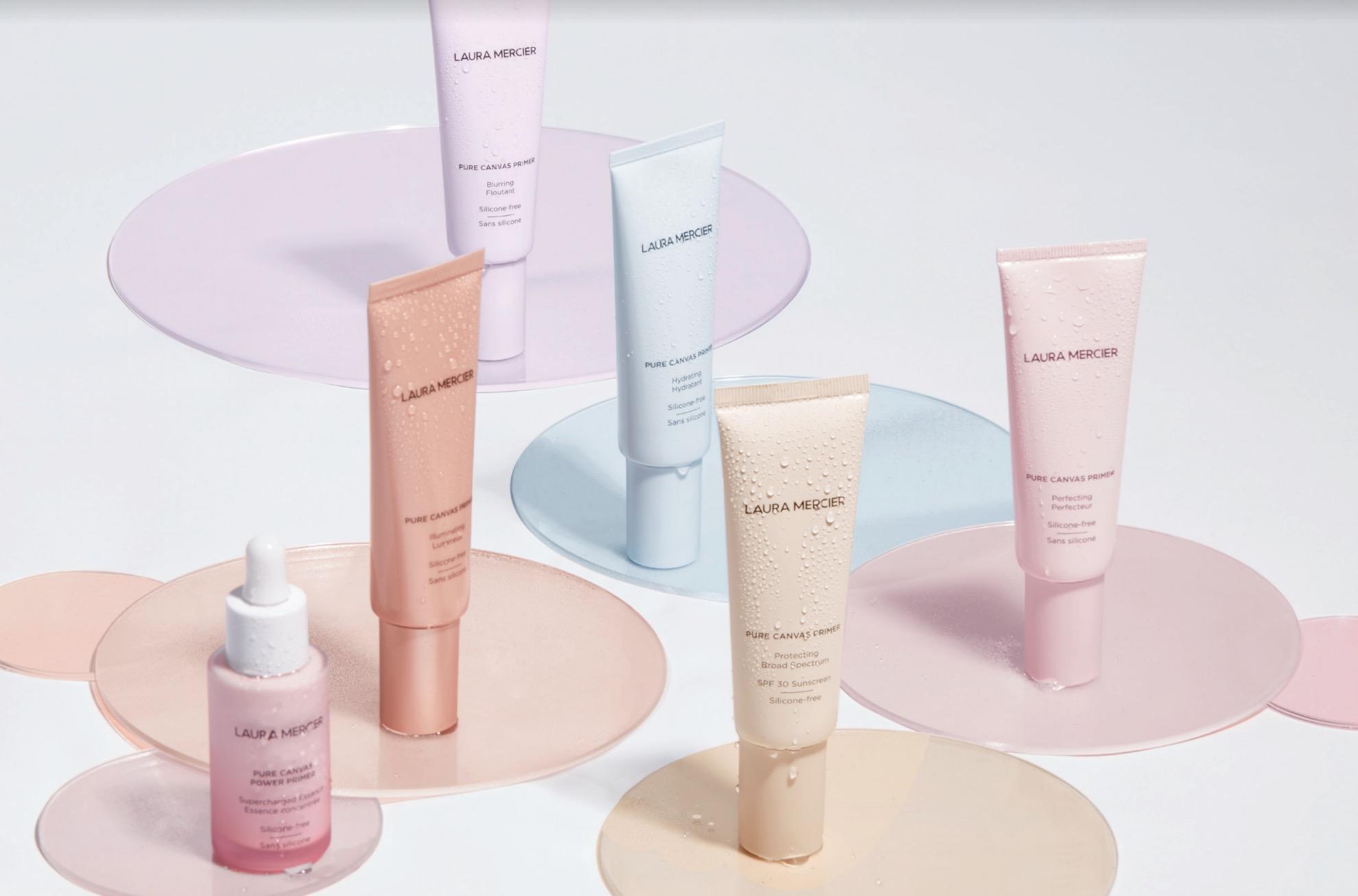 針對不同肌膚需求共有全新5款妝前打底+1款急救精華升級上市