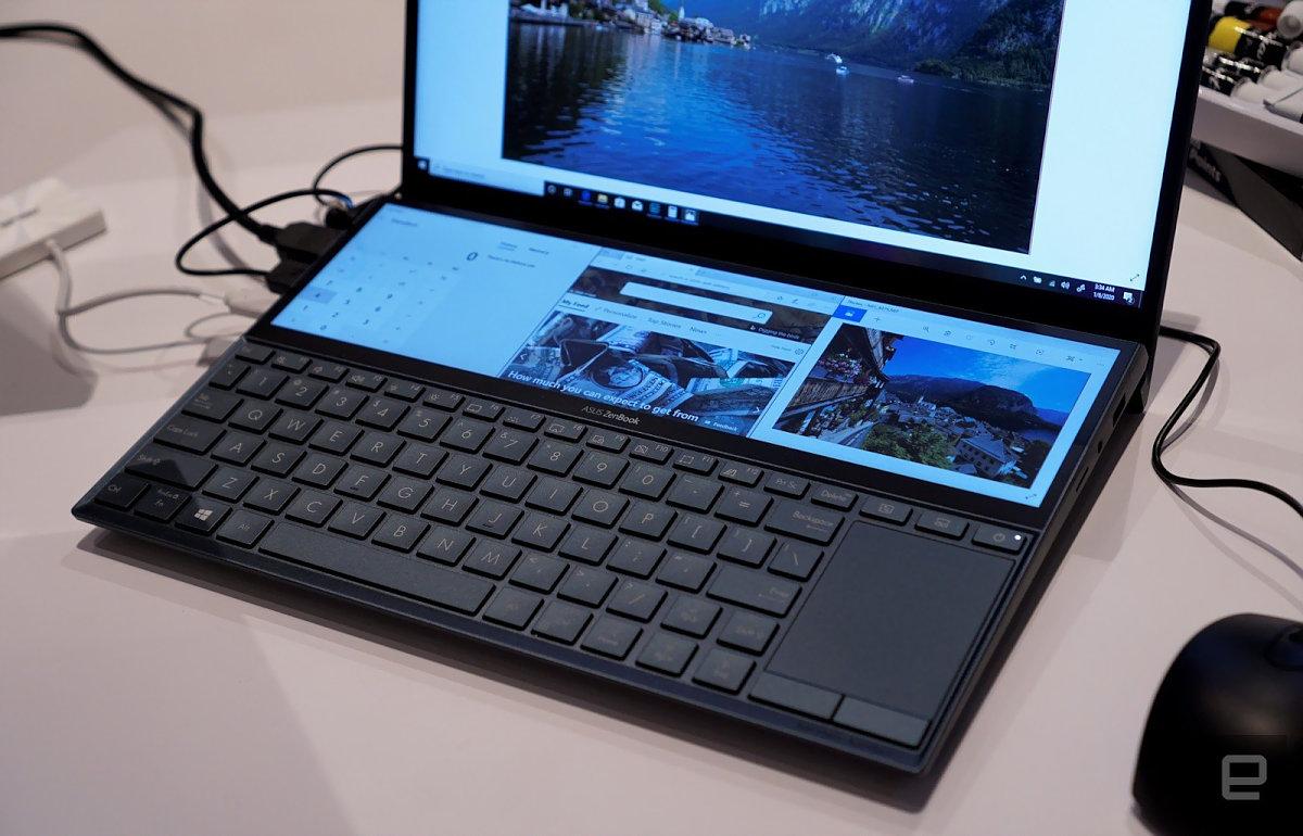 ZenBook Duo CES 2020 Ver