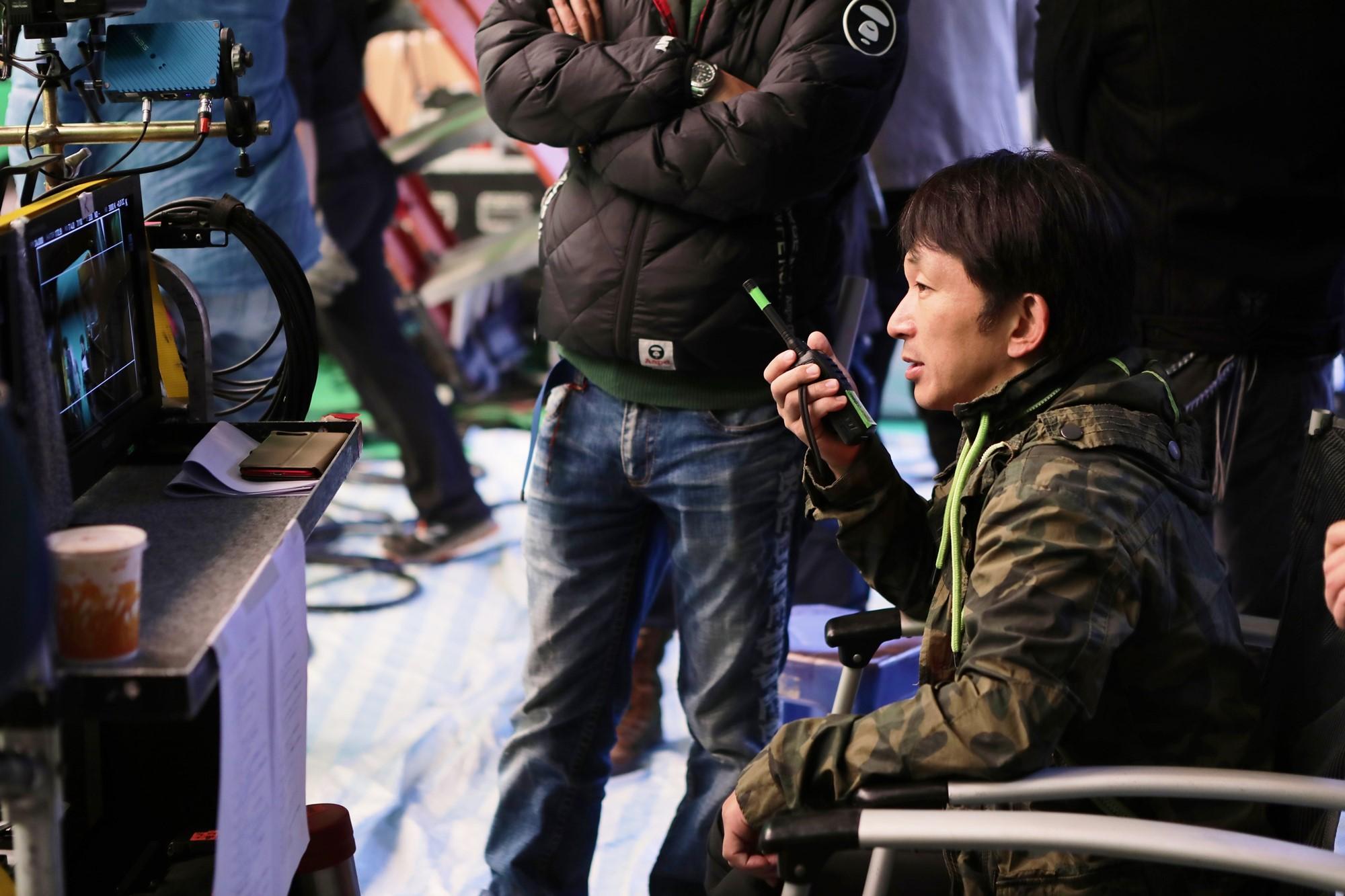 繼《導火線》《殺破狼》後 再創動作高峰 支持谷垣首部執導電影 甄子丹全程投入演出