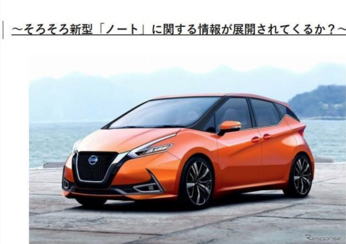 小型掀背車與 MPV 是日本最吃香市場,大改款 Nissan Note 打算一舉通吃,相當高招。(此為日媒《Creative Trend》釋出大改款 Note 預想圖。)