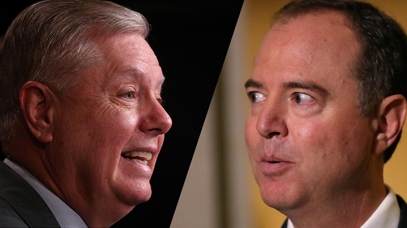 Graham praises Schiff on impeachment presentation: Youre very well-spoken