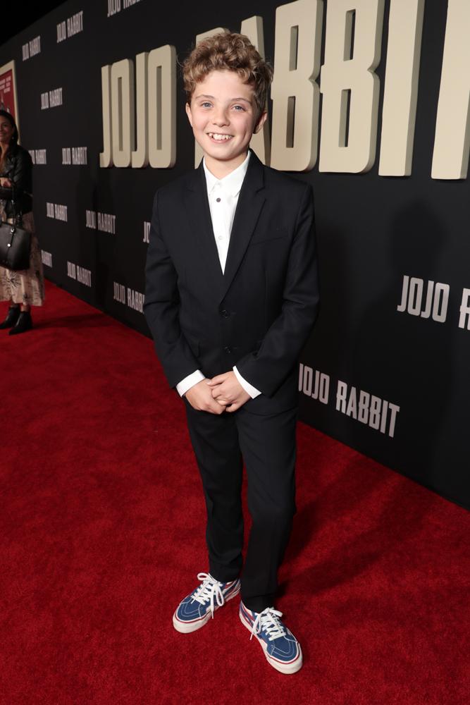 《兔嘲男孩》洛杉磯首映會 羅曼格里芬戴維斯