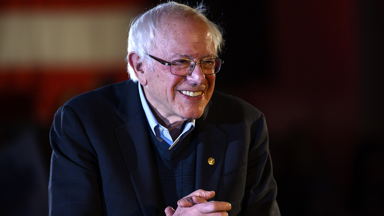 Bernie could win the Democratic nomination. But he has to show he can beat Trump