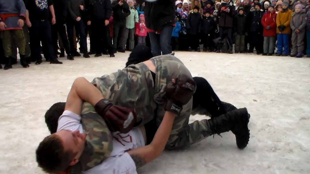 自由拳擊日 (Photo by Леонид Макаров, License: CC0, Wikimedia Commons提供)