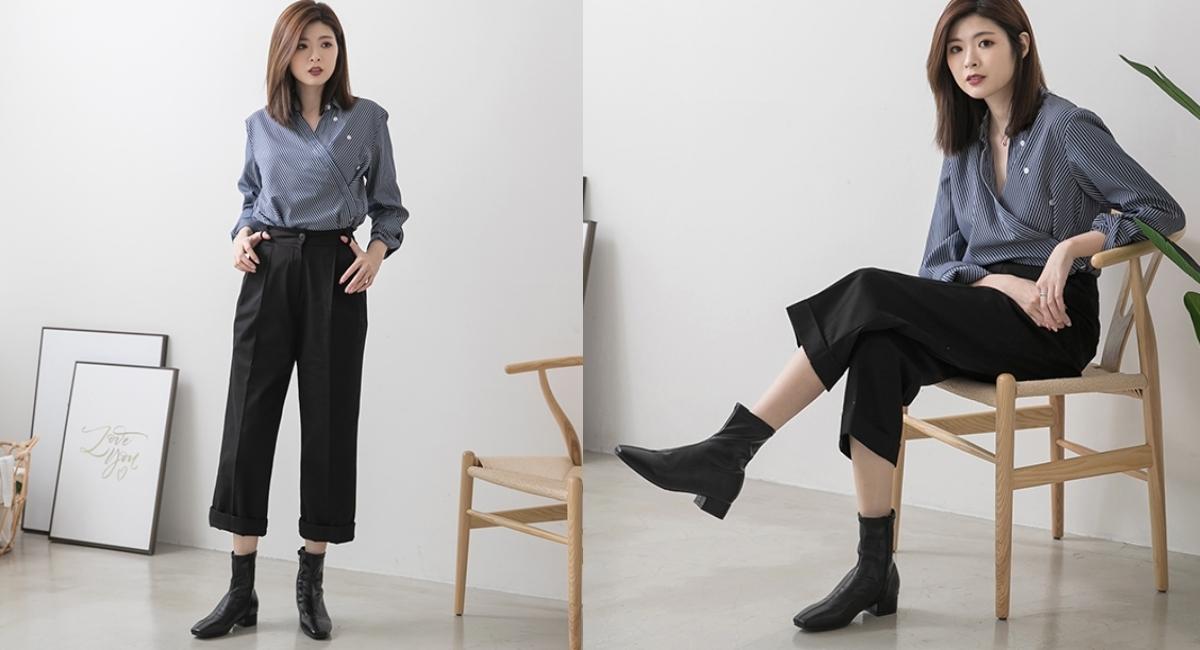 今年絕對要購入的靴子款式非襪靴莫屬!超好搭靴型線條穿起來腿型超好看