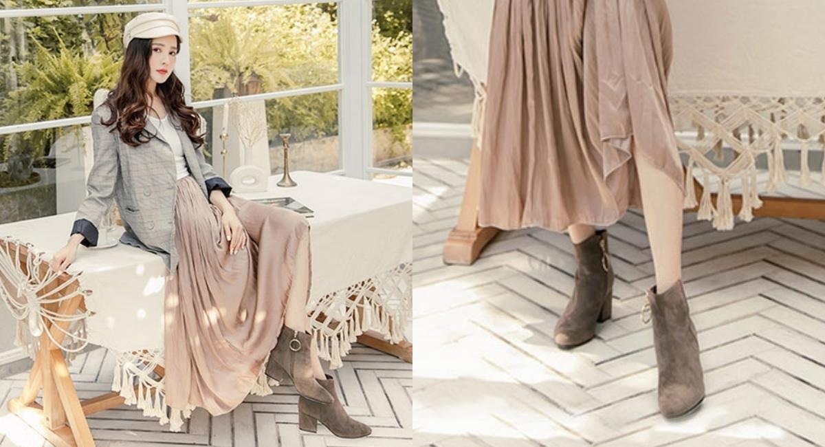 鞋面使用最新加厚三層複合材質防水絨布,從此不用擔心下雨天