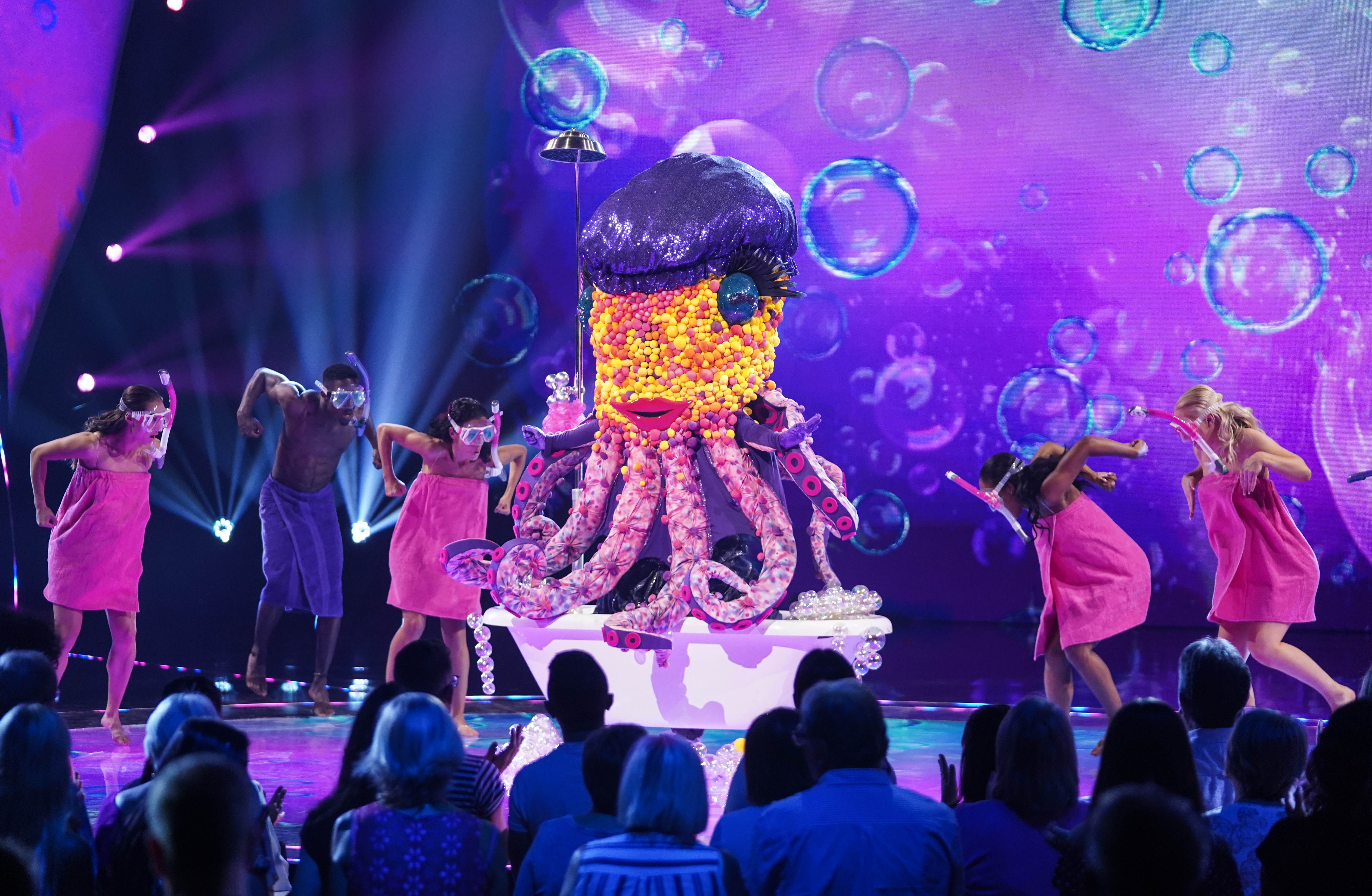 Is Kylie Minogue Octopus on 'The Masked Singer'? (ITV)
