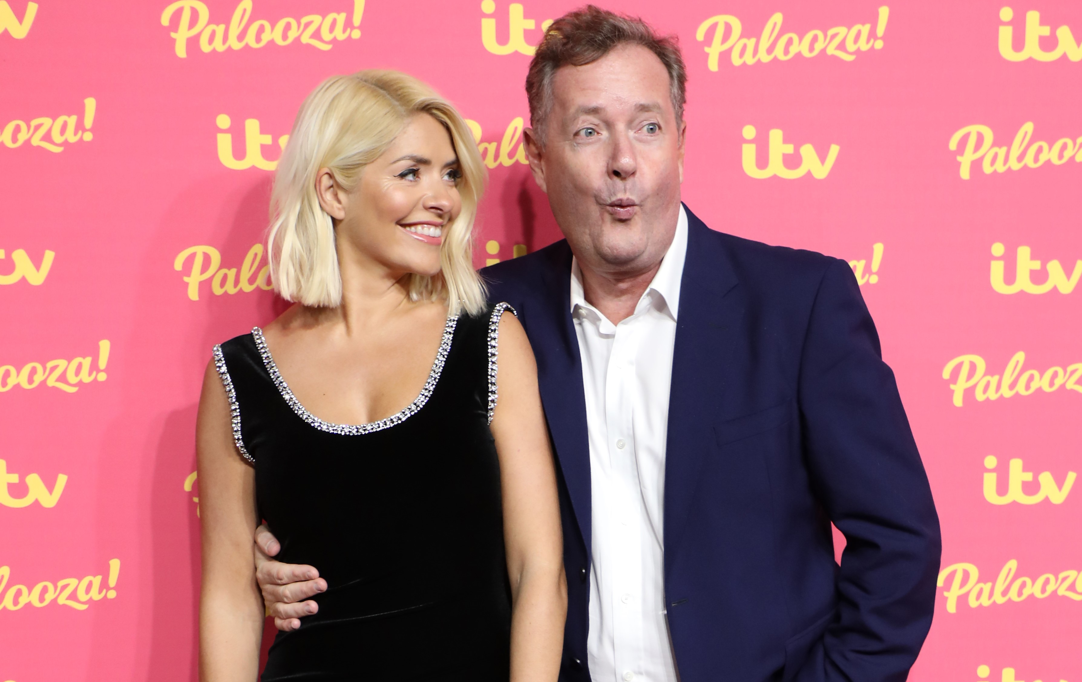 Piers Morgan is sick of losing to Holly Willoughby at the NTAs (Credit: Getty Images)