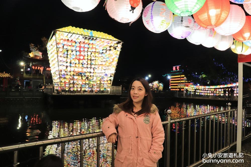 三峽廣行宮千盞繽紛燈籠海登場