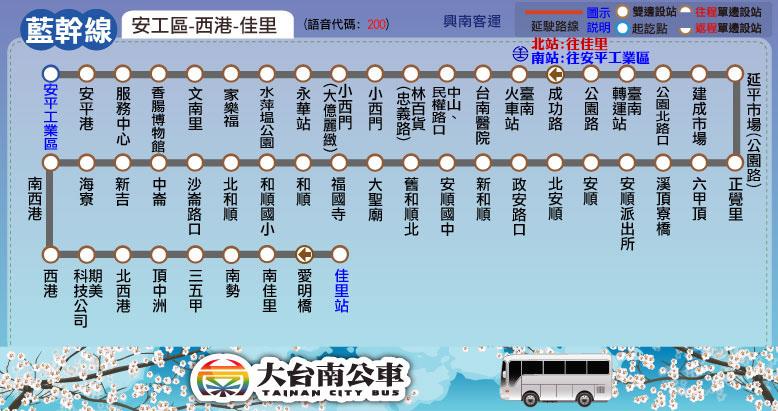 資料來源:大台南公車官網