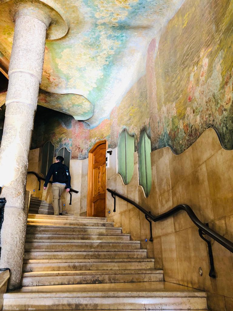 ▲米拉之家內部的建築風格。