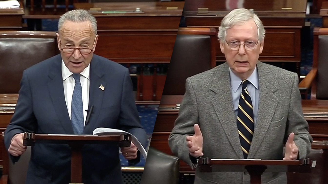 Schumer calls McConnell proposal on witnesses a trap