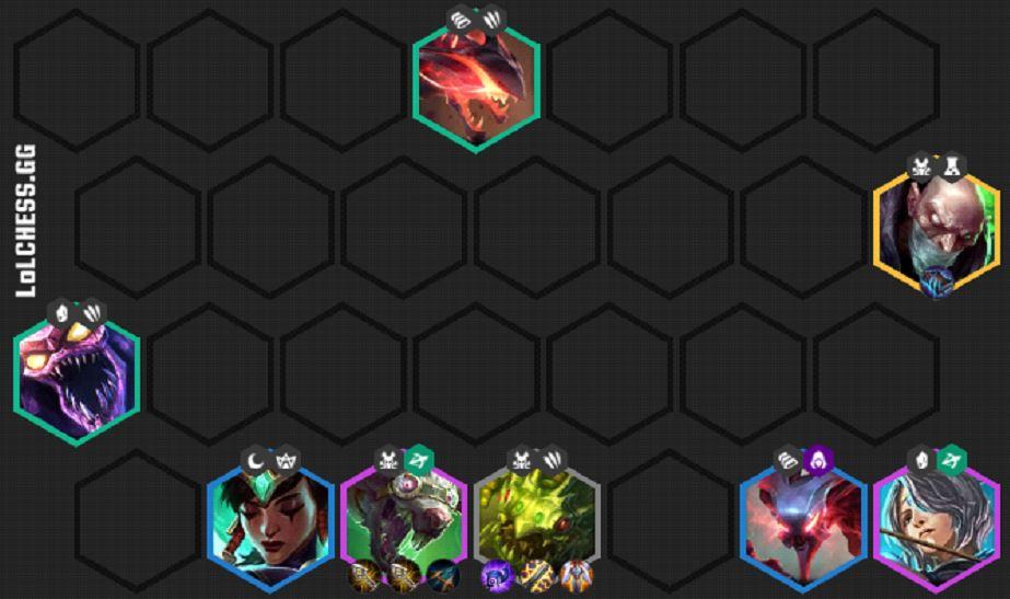 3劇毒2水晶2鋼鐵2遊俠3掠食者