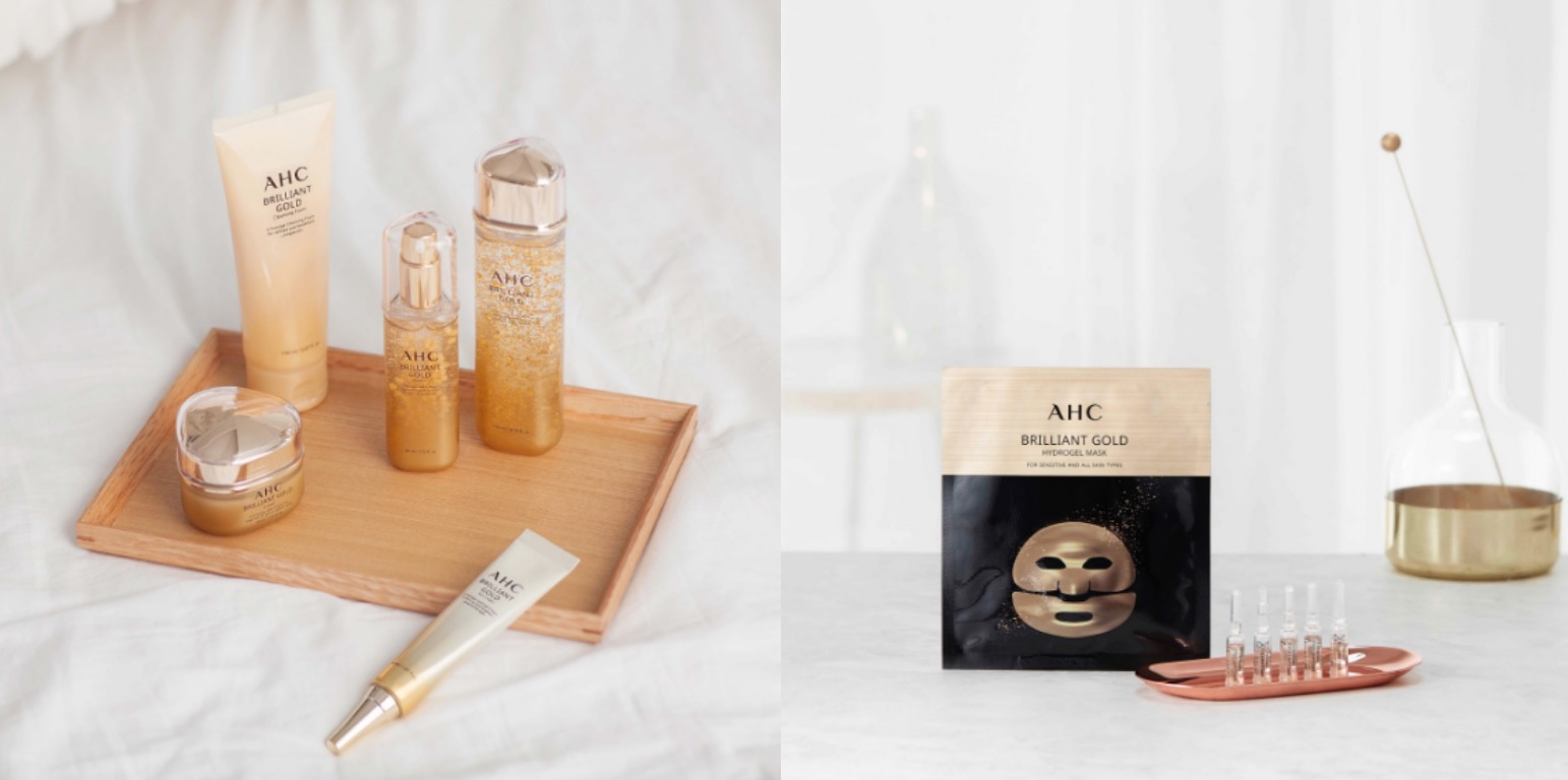 AHC的「黃金逆時煥顏系列」真的能讓肌膚膚觸變比較細緻,認真用起來
