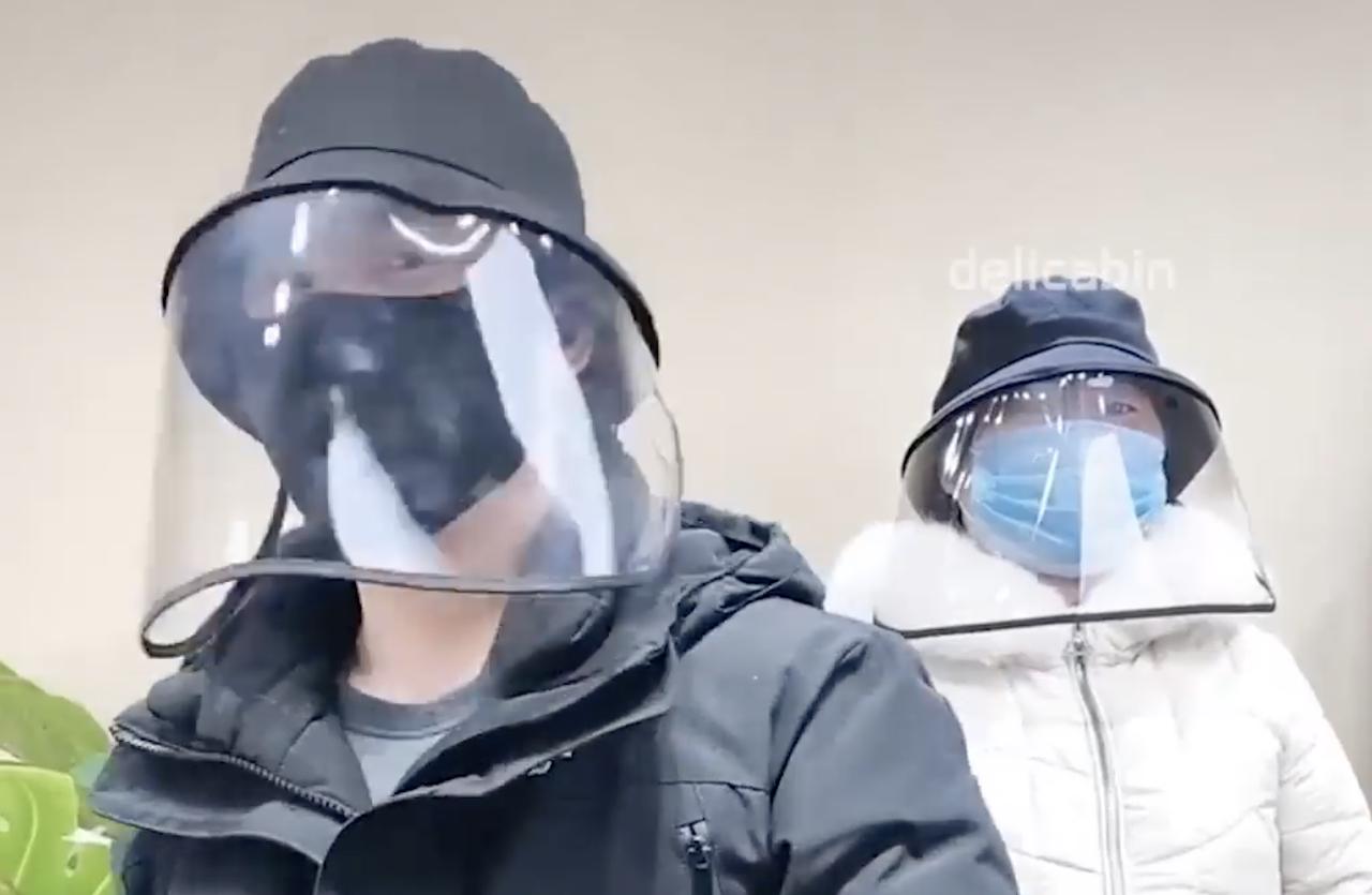 中国 人 マスク 代わり